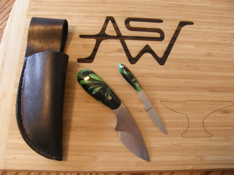 Drop Point and Small Caper Blade