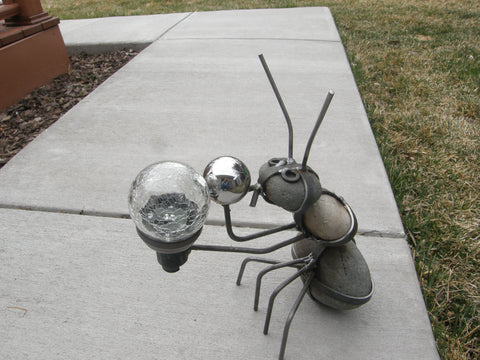 Yard Art Solar Eclipse Ant