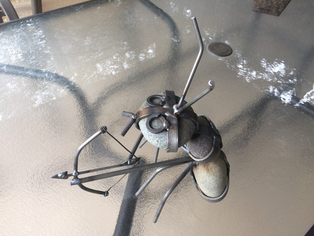 Yard Art Ant Rock – Anderson Steel Works, LLC