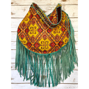 Santa Fe Hobo Bag with fringe