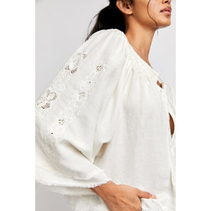 Sun Valley Embroidered Top