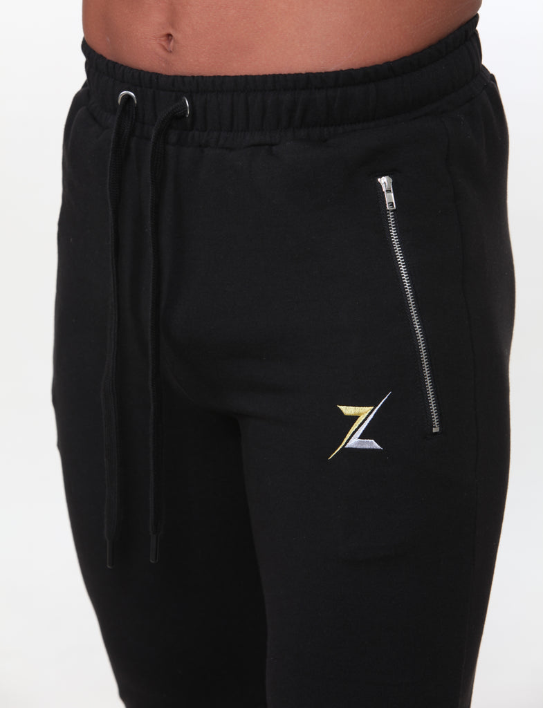 Figure Fit Zipped Joggers