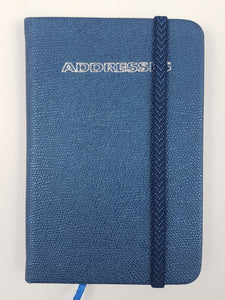 Mini Address Book Midnight