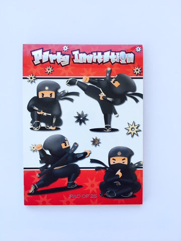 Invitation Pad Ninja
