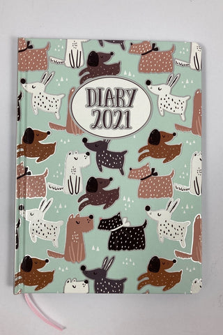 2021 A5 Fashion Diary - Dogs