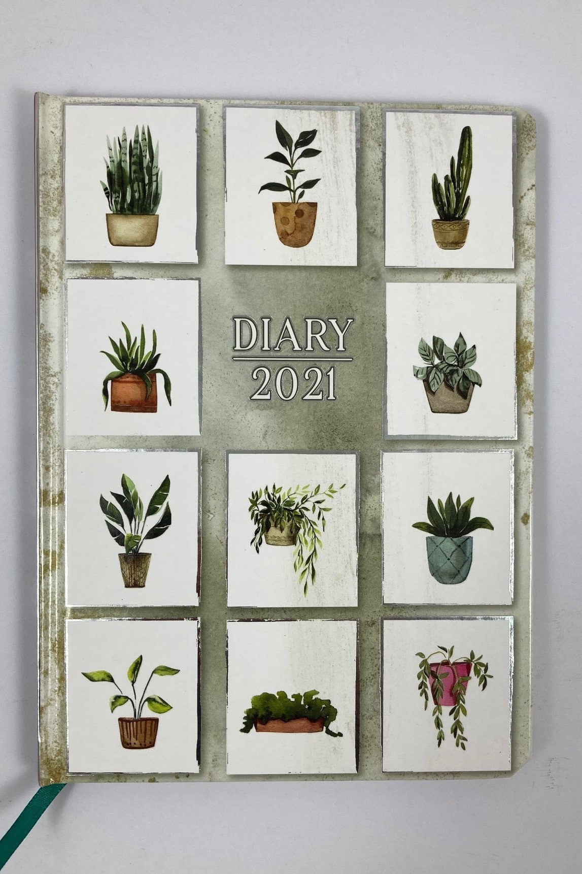 2021 A5 Fashion Diary - Pot Plants