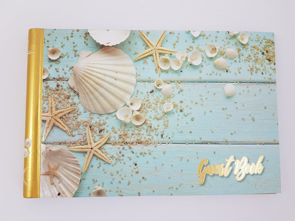Guest Book  - Seashells