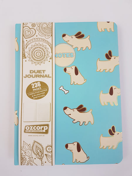 Duet Journal - Happy Dogs A5