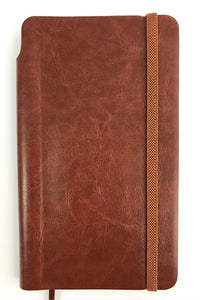 Slim Tan Journal (with pen included in the spine)