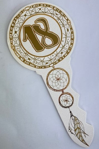 Keepsake Key Gold Dreamcatcher 18th