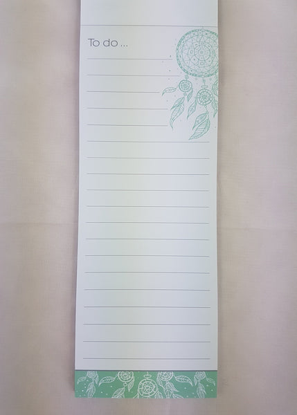 Magnetic List Pad Dreamcatcher