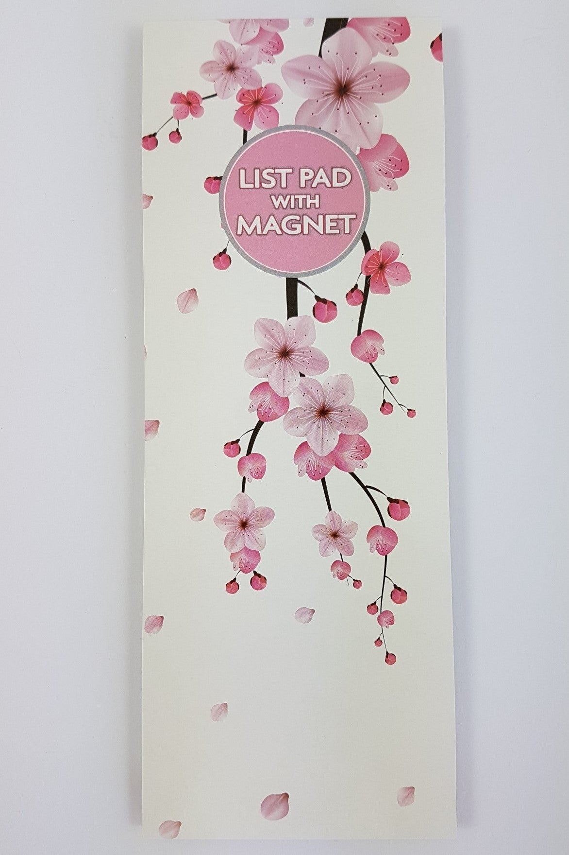 Magnetic List Pad Cherryblossom