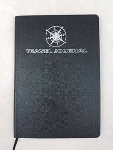 Travel Journal A5 Black Softcover