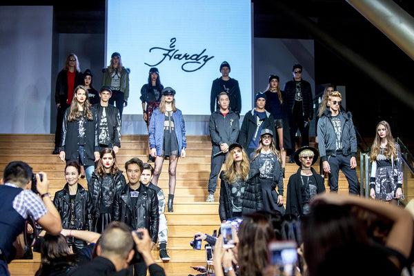 Hardy Hardy Presents Its Fall/Winter 2016 Collection at Singapore Fashion Week