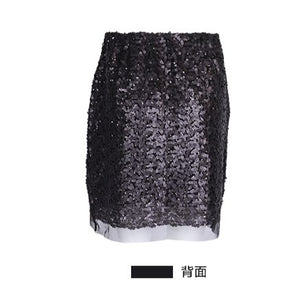 HARDY HARDY All-Over Sequin Mesh Women's Skirt