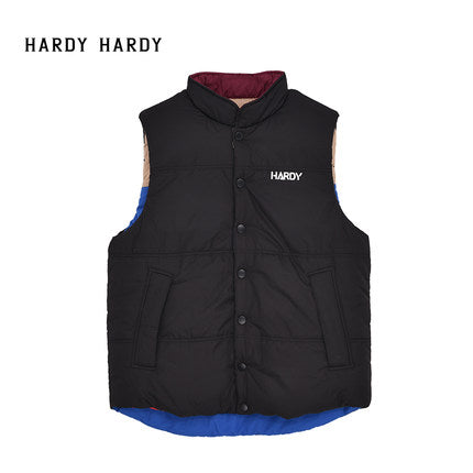 HARDY HARDY Color Block Reversible Men's Vest