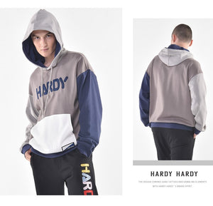 HARDY HARDY Color Block Unisex Hoodie
