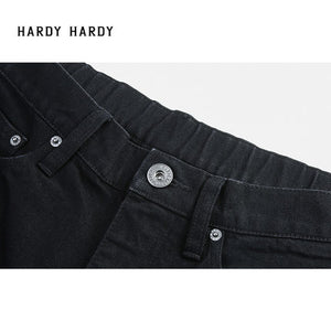 HARDY HARDY Studs & Patches Men's Denim Shorts