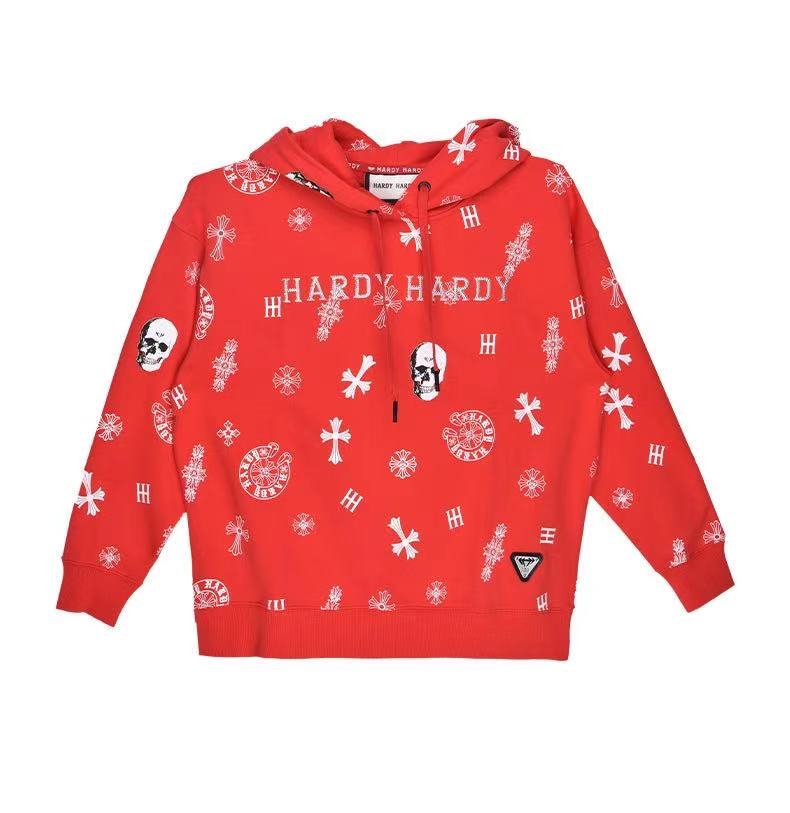 HARDY HARDY All Over Cross & Skull Women's Hoodie