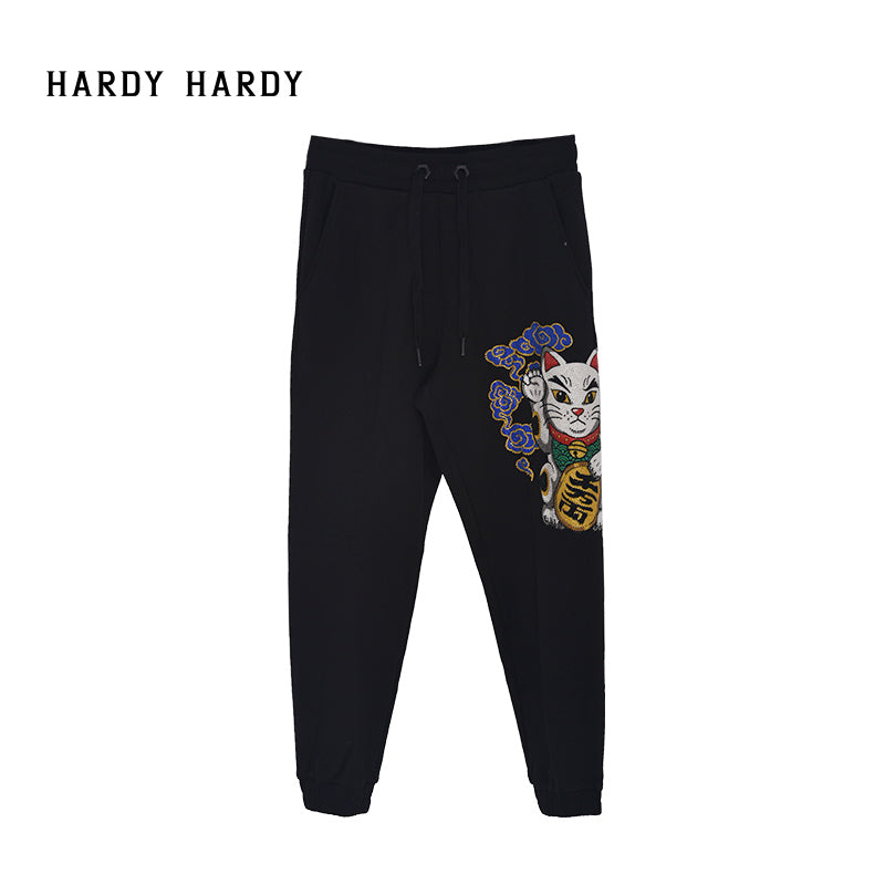 HARDY HARDY Lucky Cat Men's Jogger Pants