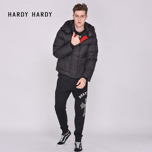 HARDY HARDY Embroidered Lion Men's Down Jacket