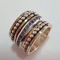 Tevet | Canaan RingS, Gold & Silver Rings, Spin Rings, Sapphire Rings, Authentic Israeli Jewelry, Israel Jewelry Designers