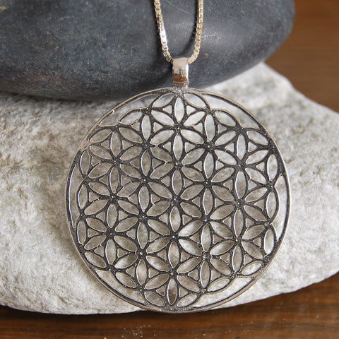 The flower of life | Kabbalah Pendants, Silver Necklaces, Kabbalah Jewelry