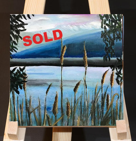 Sea of Galilee Landscape, Israel Painting Views, Holy Land View, Oil On Canvas Israel Art, Galilee Sceneries Art,