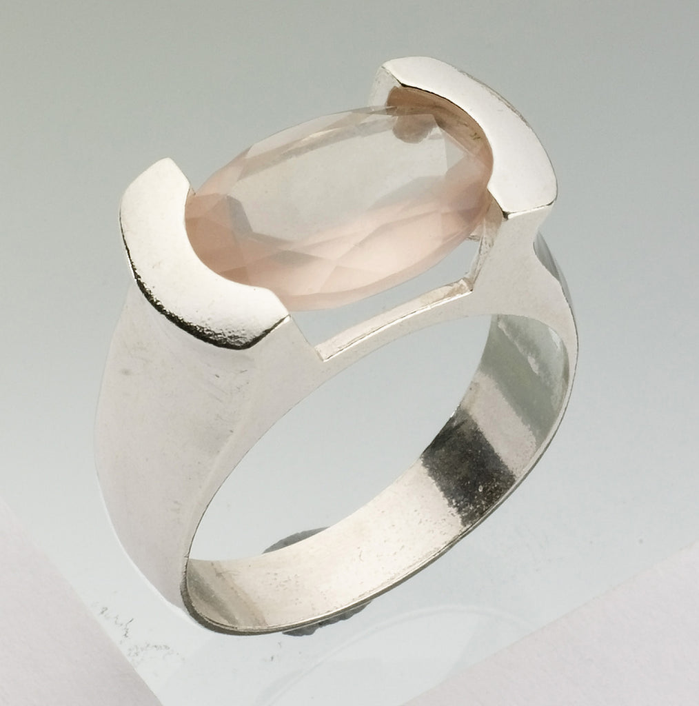 Kabbalah Rose Quartz Ring, Kabbalah Cleansing Soul Ring, Powerful Protected Ring, Kabbalah Encrypted Oval Ring, Solitaire Rose Quartz Ring, Pure Aura Ring, Reinforces The Mental Body Ring, Magical Abilities Ring, Tranquility and Self Confidence Ring
