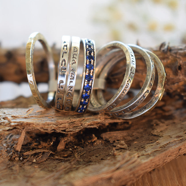Timnah | Biblical Rings, Hebrew Inscribed Rings, Spin Rings, Gold & Silver Rings, Sapphire Rings, Israeli Designer Jewelry, Authentic Israeli Jewelry Designers