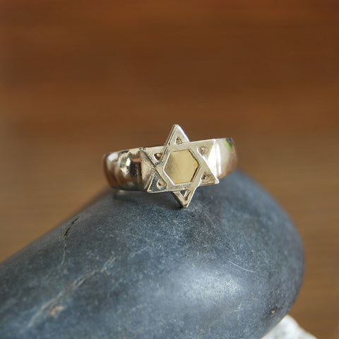 David Star, Kabbalah 5 Metals Ring - Deborah