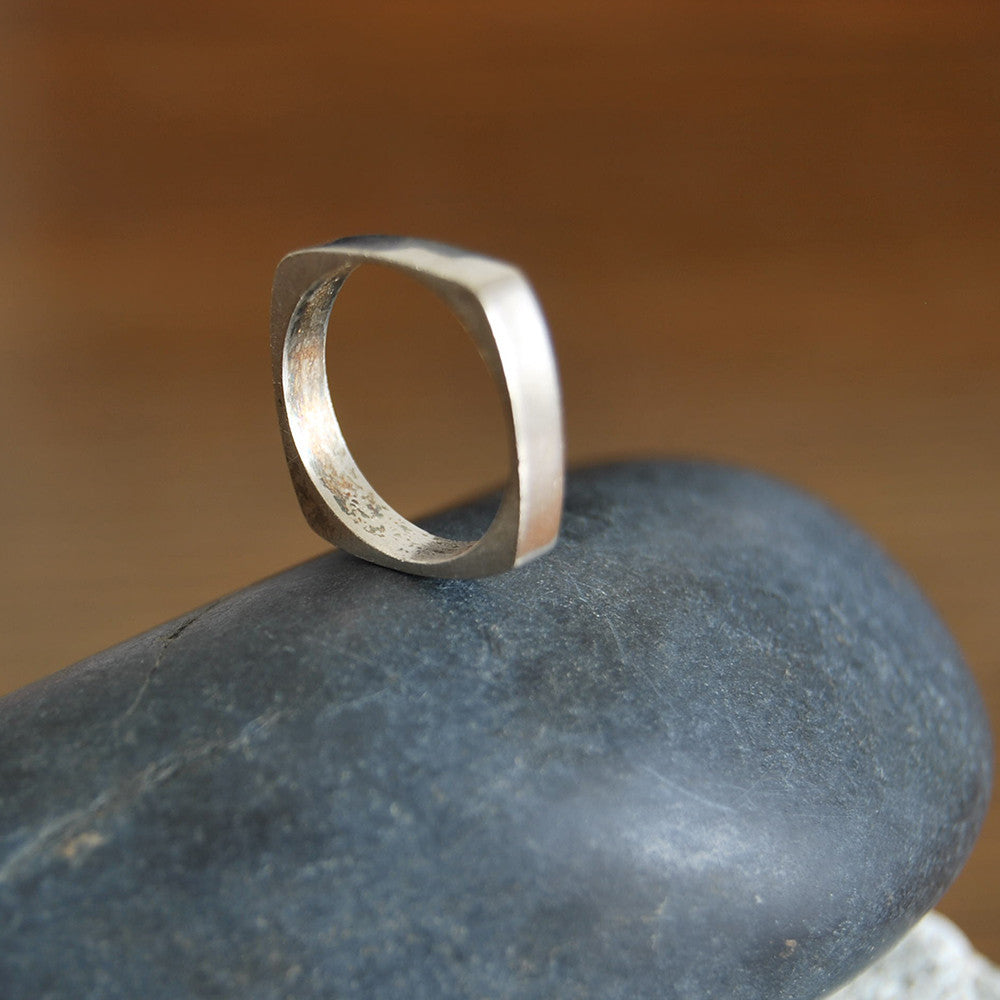 Men Wedding Band - Ahava