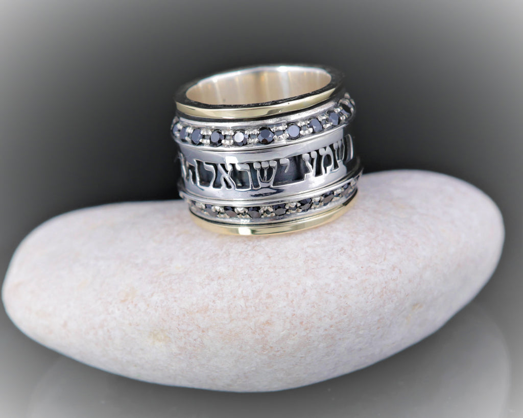 Men Wedding Gold and Silver Band-Ava