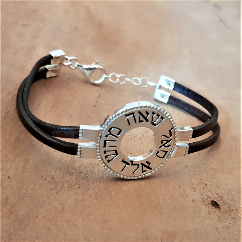 Handwriting Jewelry, Evil Eye Bracelet-Brachah 3