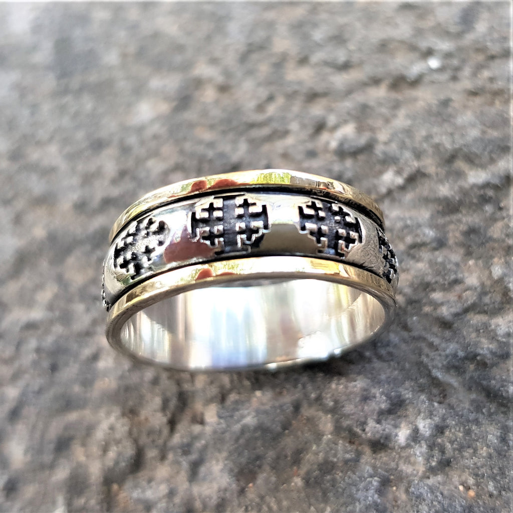 Cross Signet Ring Religious Jewelry - Ezra