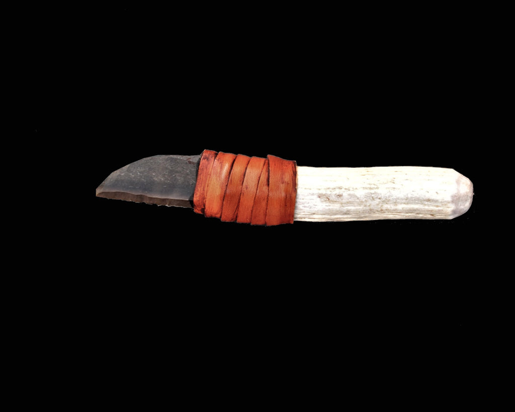 Flint Stone Knife 011 | Collectors Ancient Knive, One Of A Kind Stone Knife, Stone Age Knife