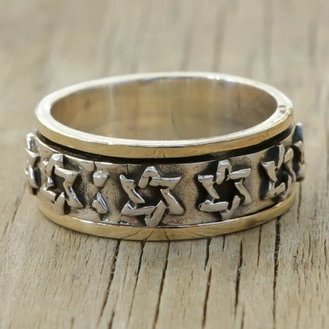 Star Of david Ring Judaica - Delilah
