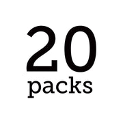 White Single Serve - 20 Pack Bundle - Teabook