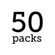 White Single Serve - 50 Pack Bundle - Teabook