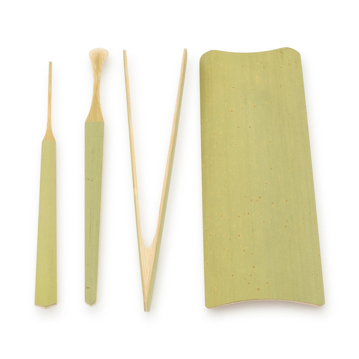 Green Bamboo Tea Tools - Teabook