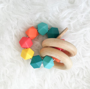 Tropical Teether Rattle