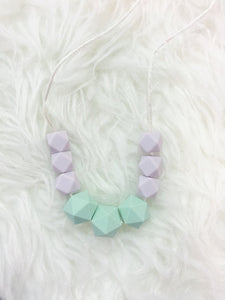 Mint & Lavender Teething/Sensory Necklace