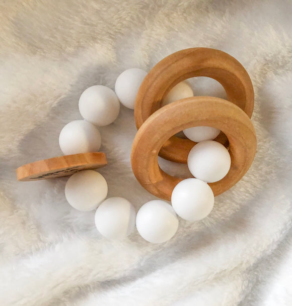 Snow Round Teether