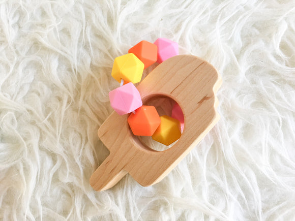 Dreamsicle Popsicle Teething Toy