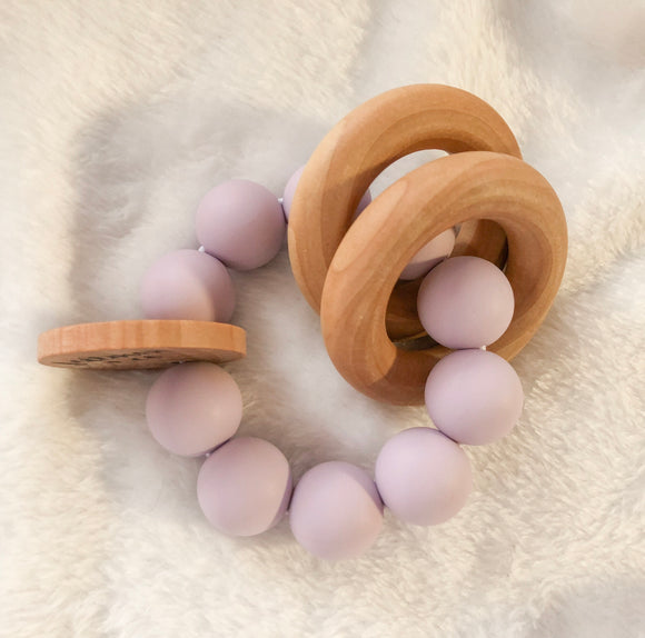 Lavender Round Teether