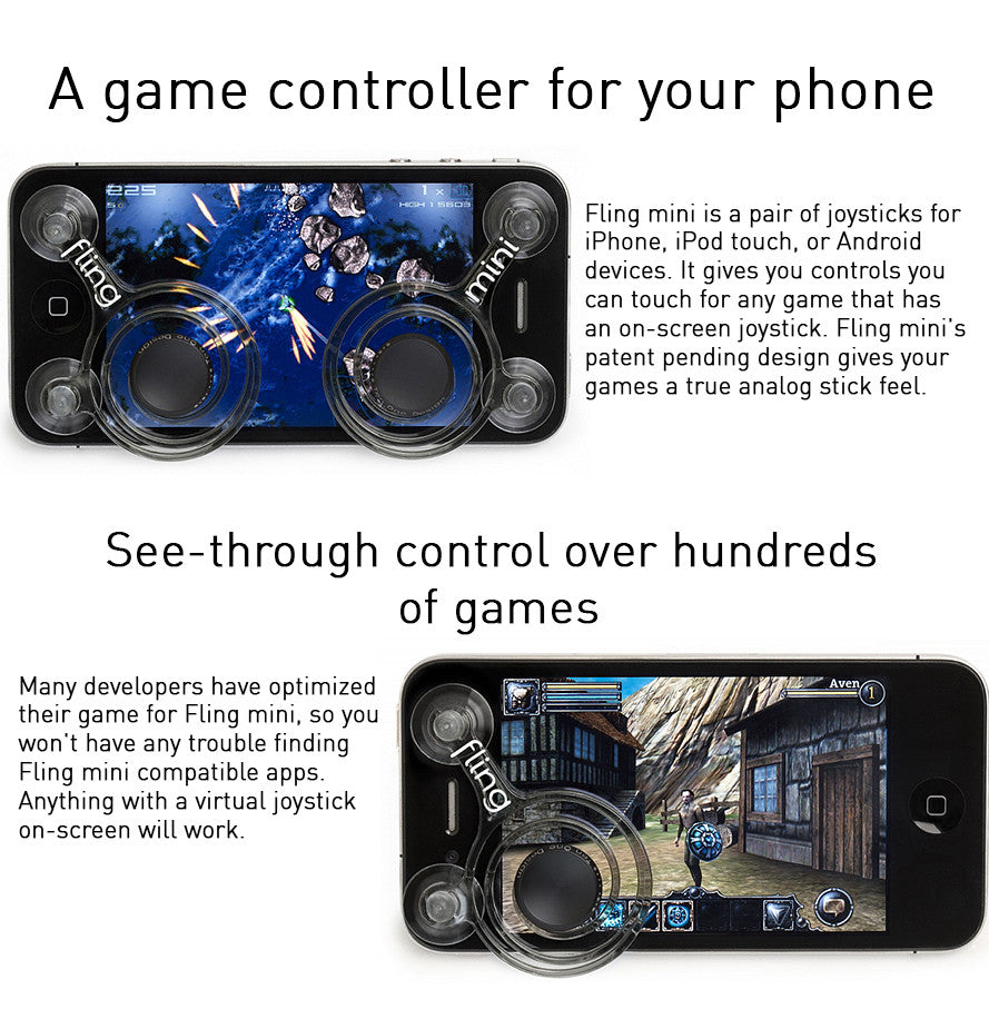 idrop Fling Mini Mobile Gaming Joystick / Mobile Joystick / Mobile  Accessories