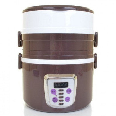 1.2L 3 Layer Rice Cooker & Steamer