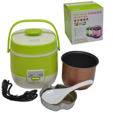 1.2L Portable Electric Lunch Box Steamer Mini Rice Cooker