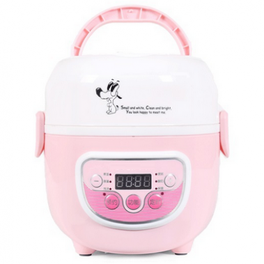 1.3L Double Layer Muti-function Electric Lunch Box With Timer