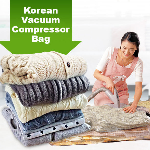 Korean Vacuum Compressor Bag